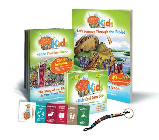 The Great Adventure Kids Pack