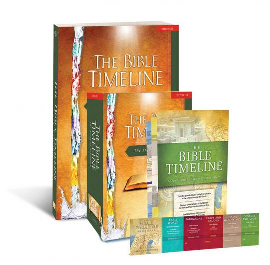 The Bible Timeline Starter Pack with 12 DVD Set