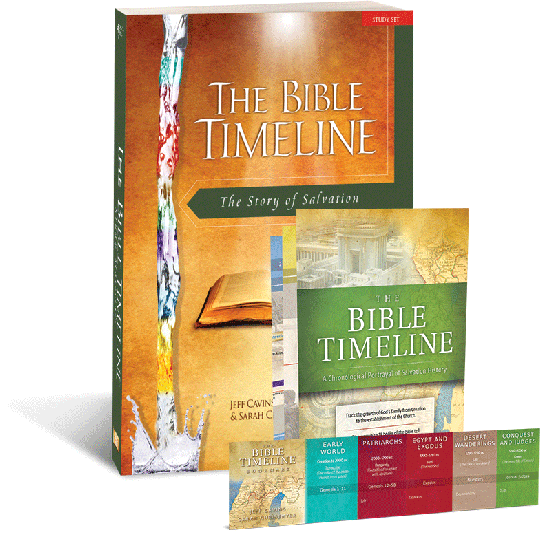 The Bible Timeline: The Story of Salvation Study Set Workbook
